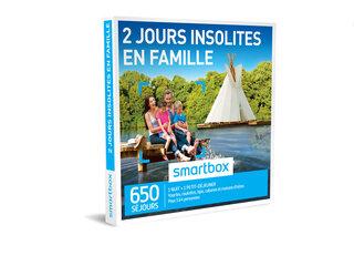 225dc703d98 Coffret cadeau 2 jours insolites en famille - Smartbox