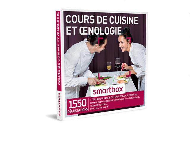 Coffret cadeau Cours de cuisine et œnologie - Smartbox c2ed1fd5b62f