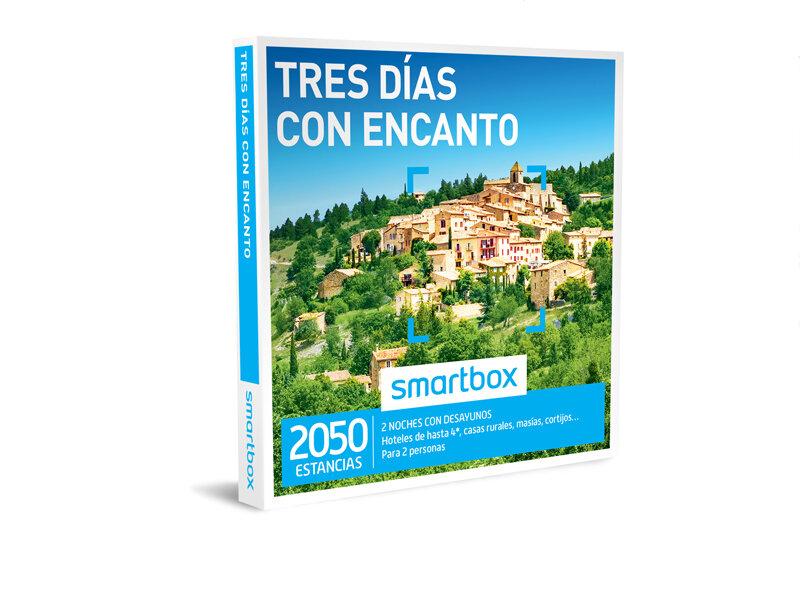 d076b622dfb05 Caja regalo Tres días con encanto - Smartbox