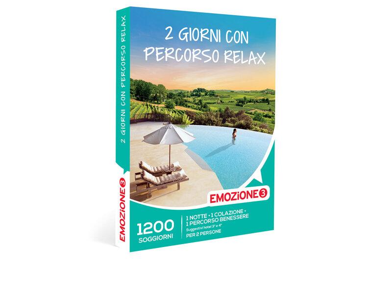 Cofanetto regalo - 2 giorni con percorso relax - Emozione3