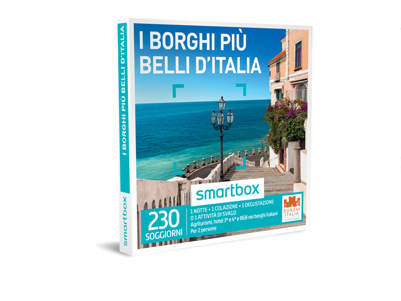 Cofanetto regalo - I borghi più belli d'Italia - Smartbox