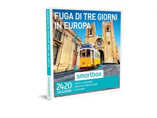 Cofanetto Regalo Fuga Di Tre Giorni In Europa Smartbox