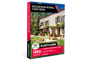56b4188868618 Caja regalo Escapada rural con cena - Dakotabox
