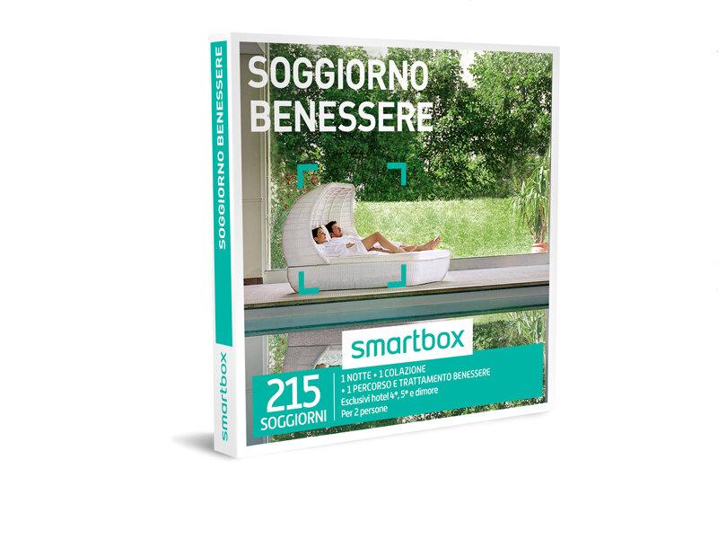 Cofanetto regalo soggiorno benessere smartbox for Regalo soggiorno