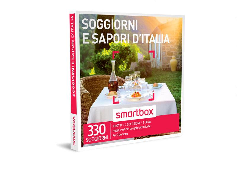 Cofanetto regalo soggiorni e sapori d italia smartbox