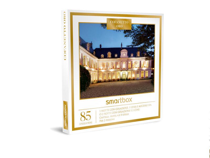 Cofanetto regalo cofanetto oro smartbox