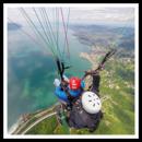 Volo in parapendio biposto sul Lago di Ginevra