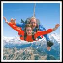 Un lancio in paracadute ad Eschbach, nella Valle del Reno