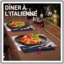 Dîner à l'italienne