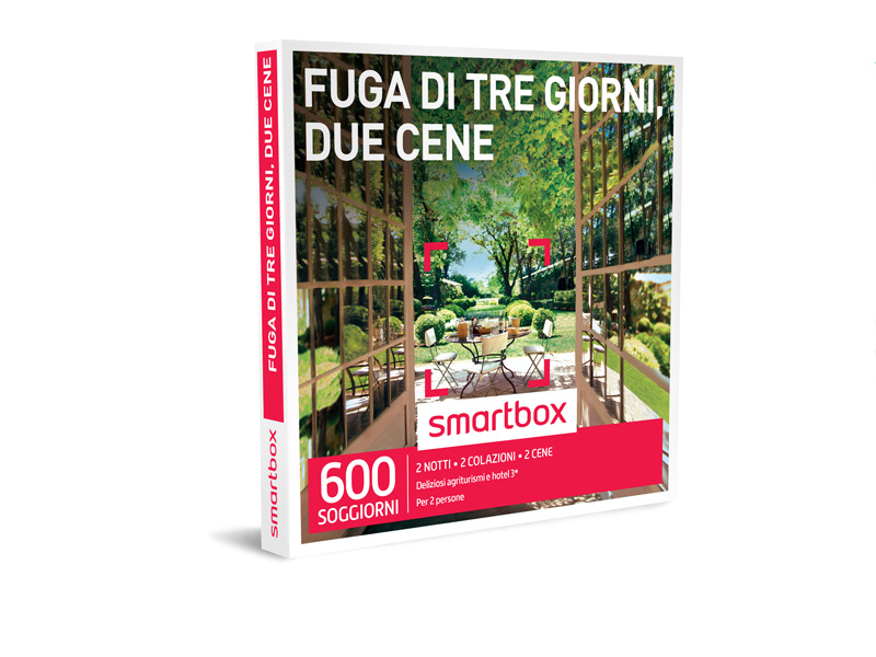 Cofanetto regalo - Fuga di tre giorni, due cene - Smartbox