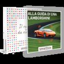 Alla guida di una Lamborghini