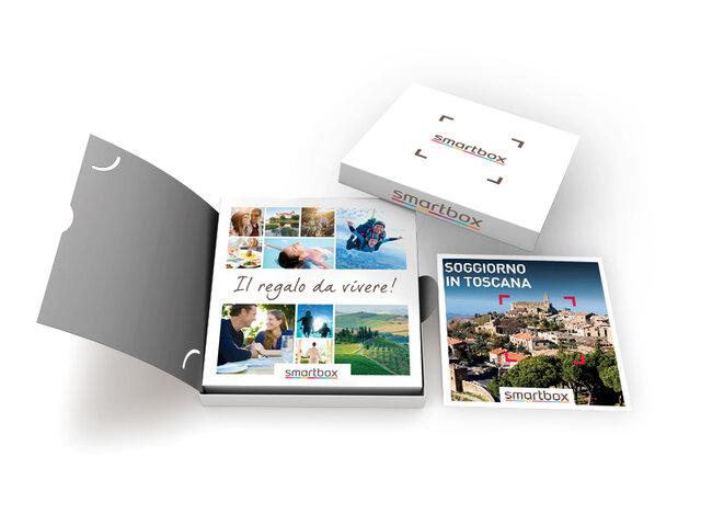 Cofanetto regalo soggiorno in toscana smartbox