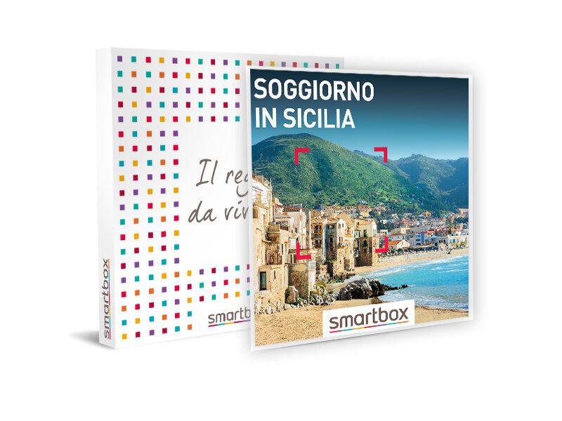 Cofanetto regalo soggiorno in sicilia smartbox for Regalo soggiorno
