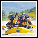 Rafting und Verkostung für 4 Personen im Rhônetal