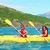 Kayak et trampoline