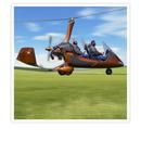 Provflygning i gyrocopter för 1 person