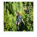 Ziplining i Klavreström för 1 person