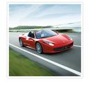 Körupplevelse (80 km) i en Ferrari/Lamborghini med Gr8 Experience