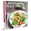 Lækker middag på Sjælland