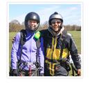 Tandemparagliding for 2 med Airwave Gliders - Tandemparagliding for 2 personer - Herstedhøje