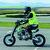 Conducción pitbike