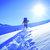 Escursione su racchette da neve