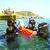 Ruta en barco y snorkel