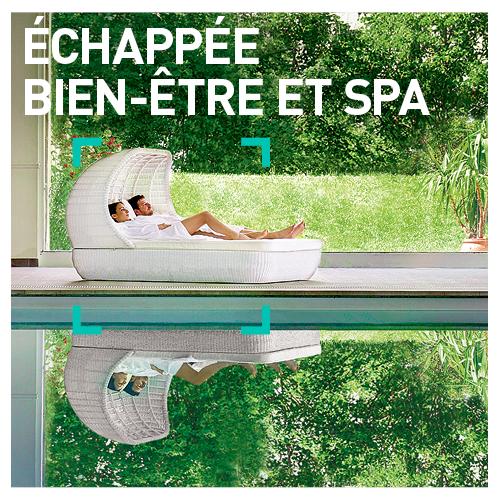 SMARTBOX - Coffret Cadeau - ÉCHAPPÉE BIEN-ÊTRE ET SPA - 1200 séjours en hôtels 3* à 5*, châteaux, manoirs et domaines