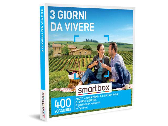 Cofanetto Regalo 3 Giorni Da Vivere Smartbox