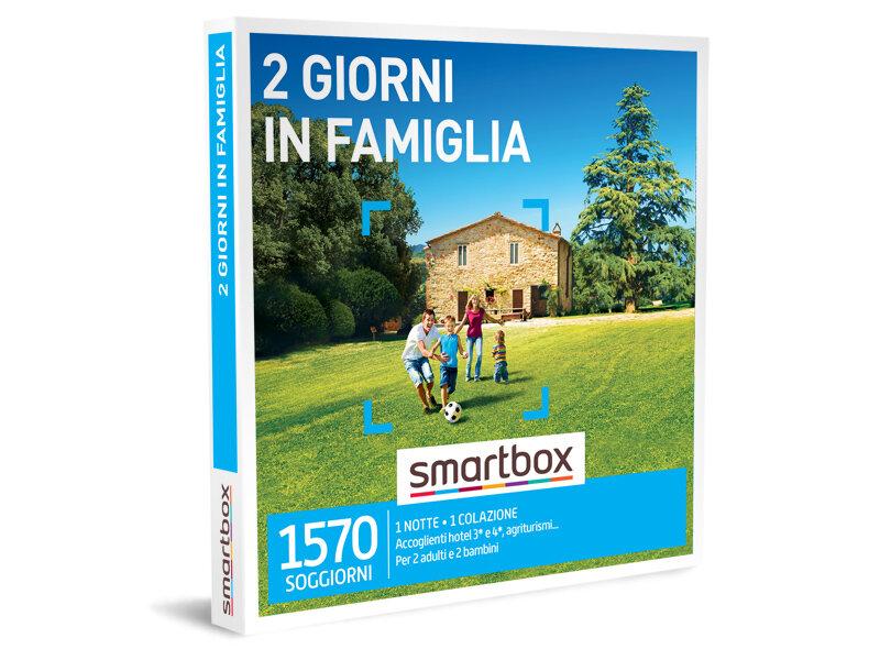 Cofanetto Regalo Per Famiglia Con Bambini.2 Giorni In Famiglia