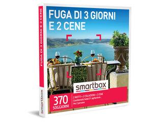 Cofanetto Regalo Fuga Di 3 Giorni E 2 Cene Smartbox