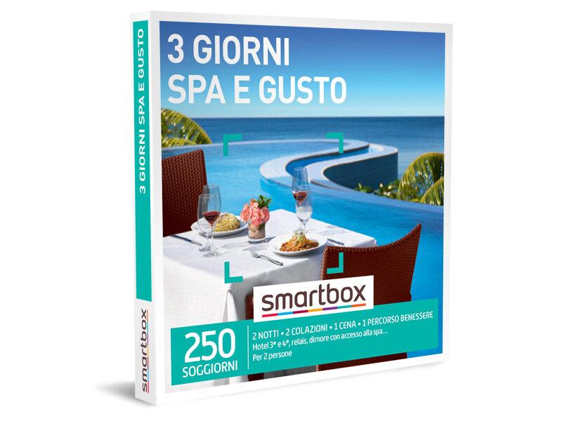Cofanetto Regalo 3 Giorni Spa E Gusto Smartbox