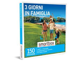 Cofanetto Regalo Per Famiglia Con Bambini.3 Giorni In Famiglia