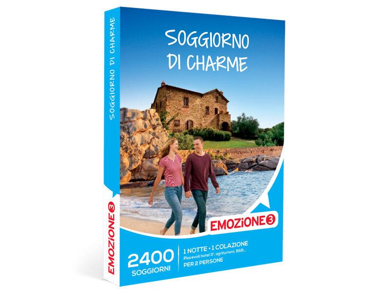 Cofanetto regalo Soggiorno di charme - Emozione3