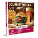 Gourmetburger & øl for 2
