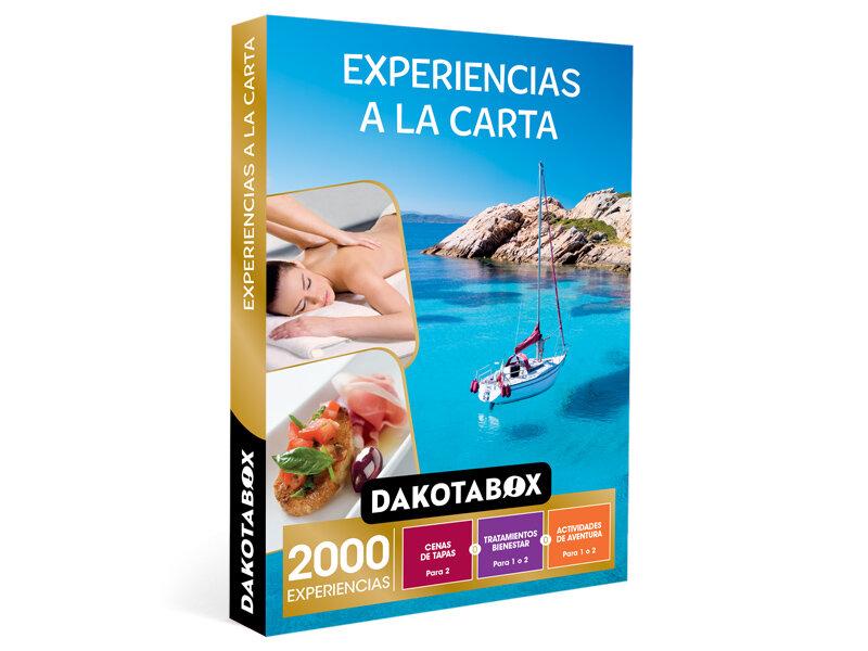 Caja Regalo hombre mujer pareja idea de regalo DAKOTABOX Un d/ía juntos rutas en kayak y cenas de tapas 6000 experiencias para disfrutar en pareja como spas