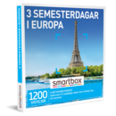 3 semesterdagar i Europa