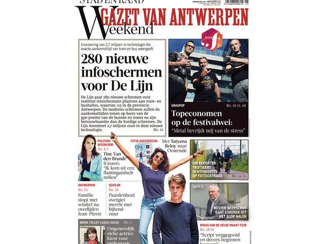 Gazet Van Antwerpen Compleet Magazines Kranten