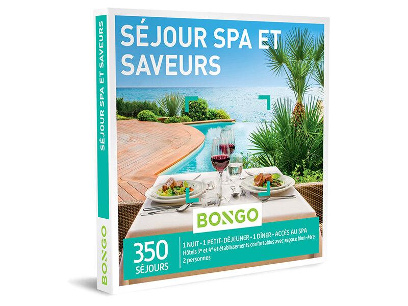 Coffret Cadeau Sejour Spa Et Saveurs Bongo