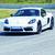Porsche 718 Cayman T su pista