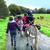 Promenade avec les ânes