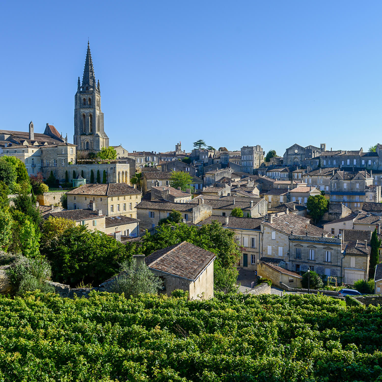 Visite de Saint-Émilion et de vignobles en DS présidentielle avec chauffeur privé (8h)
