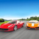 Ferrari und Lamborghini fahren
