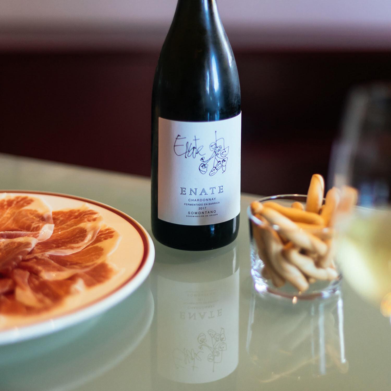 1 visita a Bodega Enate con degustación de 3 vinos y jamón