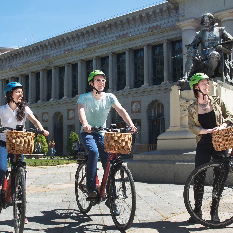 1 ruta en bicicleta por Madrid (1h30)