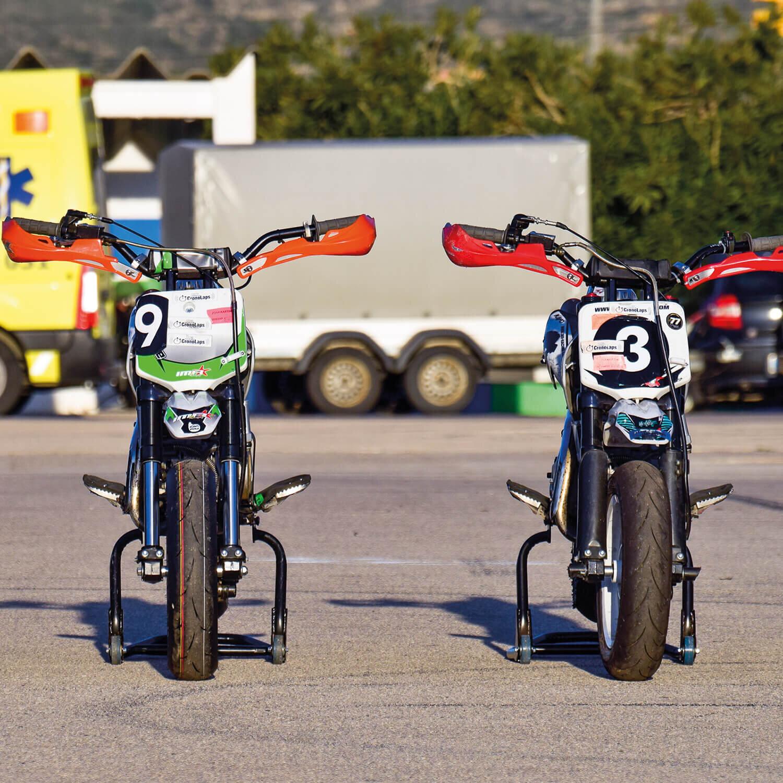 1 tanda en moto en el circuito de Alcarras (20 min)