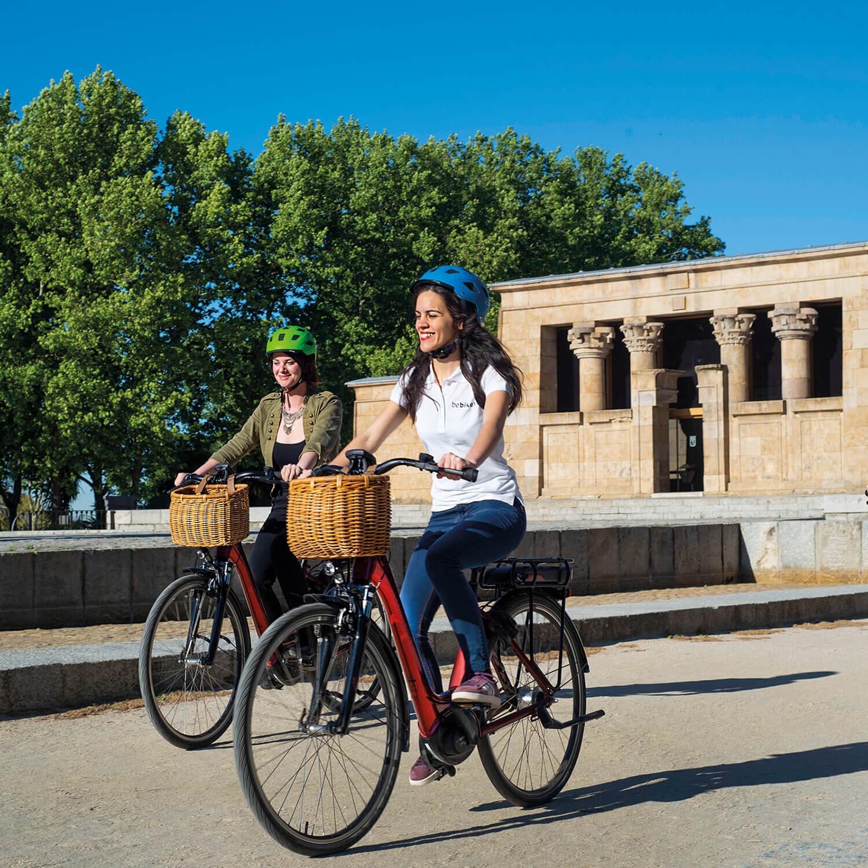1 ruta en Madrid en bicicleta (3h)