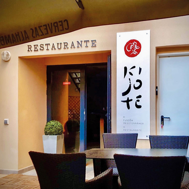 1 menú japonés de 13 platos en el Restaurante Ki-Jote