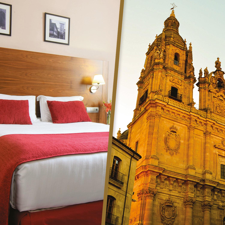 Descubre Salamanca en 1 noche en el Hotel Casino del Tormes y tour privado para 2 personas
