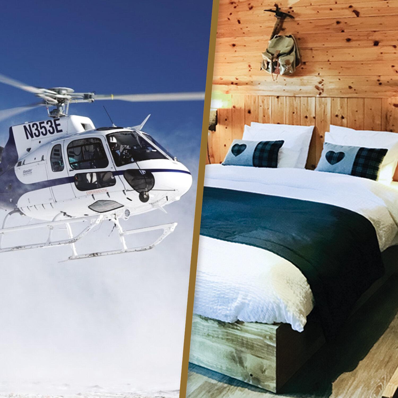 Séjour nature en duo avec survol en hélicoptère du massif du Mont-Blanc